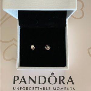 Pandora Evil Eye earrings